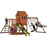 Backyard Discovery Montpelier All Cedar Wood Playset