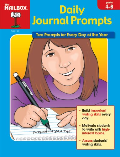 Daily Journal Prompts, Grades 4-6