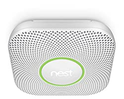 Nest Protect (2nd Generation), Smoke and Carbon Monoxide Alarm, (with batteries) from Nest