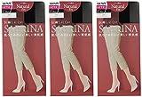 (グンゼ)GUNZE SABRINA Natural fit(サブリナ ナチュラルフィット)ひざ下丈ショートストッキング〈同色3足組〉 SBS300-3 026 ブラック 22-25cm