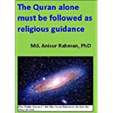 Why Quran alone?