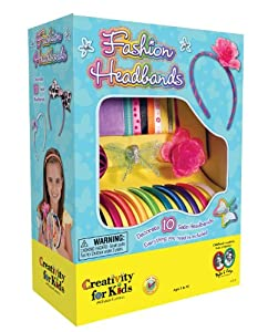 Creativity for Kids Fashion Headbands Kit