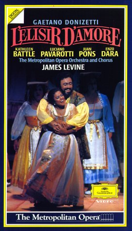 Donizetti, Gaetano - L'elisir d'amore [VHS]