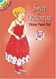 Sweet Valentine Sticker Paper Doll (Dover Little Activity Books Paper Dolls)