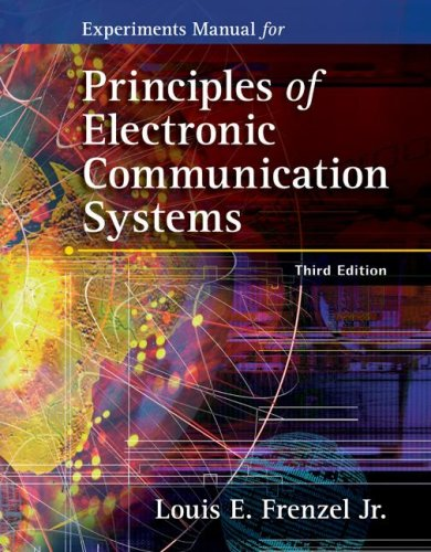 Experiments Manual for Principles of Electronic...