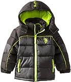 U.S. Polo Association Little Boys Hooded Puffer Jacket
