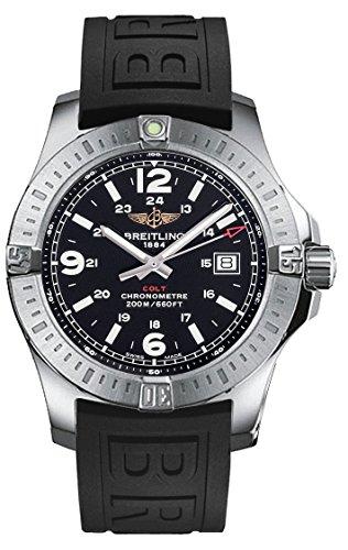(ブライトリング) BREITLING Colt Black Dial Rubber Strap Men Watch コルト メンズ腕時計 [並行輸入品] LUXTRIT