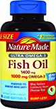 Nature Made Ultra Omega-3 Fish Oil Value Size Softgel, 1400 mg, 90 Count