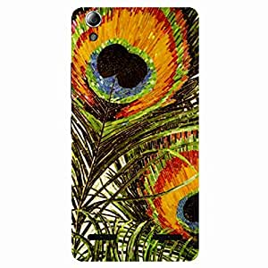 Peacock Wing - Mobile Back Case Cover For Lenovo A6000