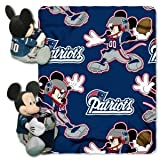 New England Patriots NFL Disney Hugger Blanket