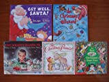 img - for Christmas Picture Books: Set of 5 (Get Well, Santa ~ The Christmas Blizzard ~ The Best Christmas Hunt Ever ~ The Christmas Promise ~ The Mighty Santa Fe) book / textbook / text book