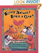 Eight Animals Bake A Cake (Ocho Animals) (Spanish Edition)