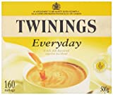 Twinings Everyday Tea Bags 500 g 160 Tea Bags (Pack of 3 total 480)