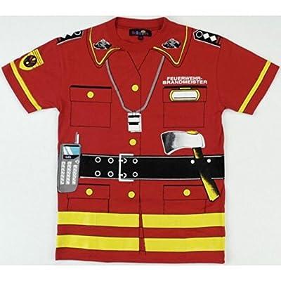 Klein 8946 Gr. 128 Feuerwehr T-Shirt