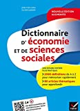 Dictionnaire d'économie et de sciences sociales...