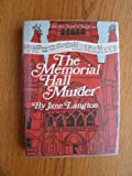 The Memorial Hall Murder (Homer Kelly) (0060125071) by Jane Langton