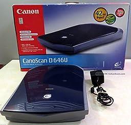 Canon CanoScan D646U USB Flatbed Scanner
