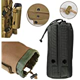 ELEGIANT Military Tactical Rainproof Case Bag For JBL Pulse Charge 2 Bluetooth Speaker Black