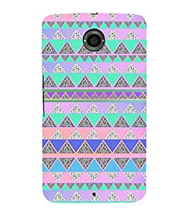 Ebby Premium Printed Mobile Back Case Cover With Full protection For Motorola Google Nexus 6 (Designer Case)