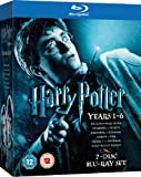 Harry Potter 1-6 [Blu-ray] [Region Free]