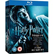 Post image for Harry Potter 1-6 (Blu-Ray) für ~23,50€ *UPDATE5*