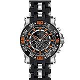 Invicta Men's Sea Spider Black Polyurethane Band Steel Case Swiss Quartz Analog Watch 22475