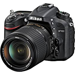 Nikon D7100 24.1 MP DX-Format CMOS Digital SLR Camera Bundle with 18-140mm and 55-300mm VR NIKKOR Zoom Lens (Black)