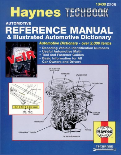 Automotive Reference Manual & Dictionary (Haynes Manuals), Chilton