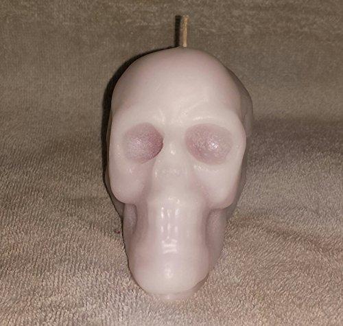 001 Bleeding Skull Candle- Large- Large Skull Candle