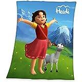 Herding 750254035 Fleecedecke Heidi, 100 % Polyester, 130 x 160 cm