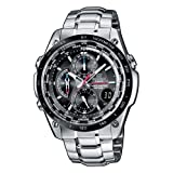 Casio Edifice EQW-500DBE-1AVER Radio Controlled Analog Quartz Watch with Chronograph, Alarm, Time Zones, Date Indicator, Steel Bracelet, Water Resistant to 10 ATMby Casio