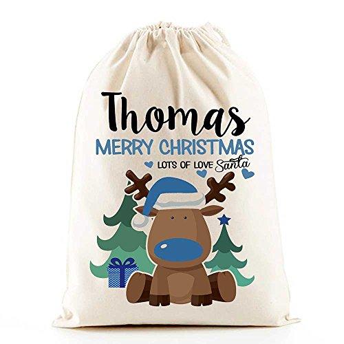 personalised-santa-sacks-reindeer-boys-christmas