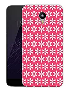 "Simple Flowers Print Printed Designer Mobile Back Cover For ""Google Infocus M2 Note"" By Humor Gang (3D, Matte Finish, Premium Quality, Protective Snap On Slim Hard Phone Case, Multi Color)"