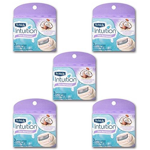 new-schick-intuition-pure-nourishment-razor-refill-coconut-milk-and-almond-oil-cartridge-15-blade