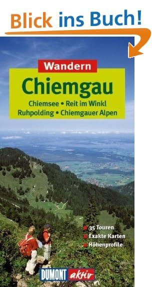 Wandern Chiemgau DuMont aktiv - Höhenprofile