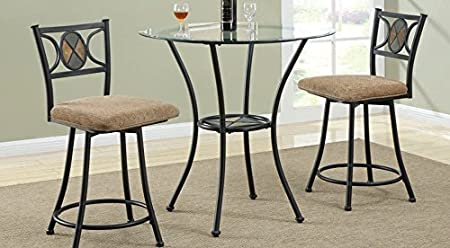 Counter Height Table Bar Set By Acme Furniture