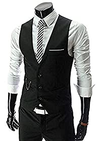 Zicac Men's Top Designed Casual Slim…