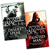 Peter V. Brett Peter V. Brett Demon Trilogy 2 Books Collection Pack Set RRP: £16.36 (The Desert Spear, The Painted Man)