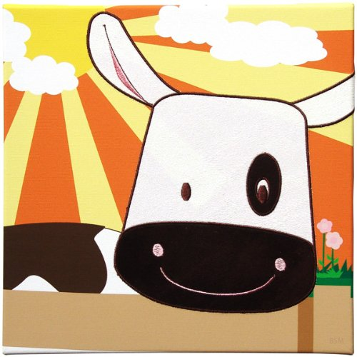 Cow Wall Art - Animal Farm Collection