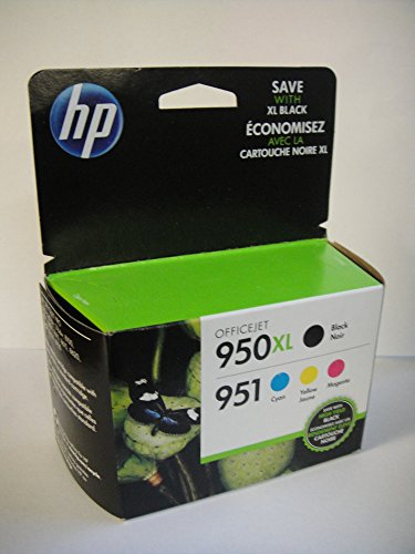 hp 950xl black and 951 color ink cartridges c m y combo pack in retail packing recomended. Black Bedroom Furniture Sets. Home Design Ideas