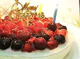クリスマスケーキ 4種のベリーケーキ (ローソク・プレート・手紙付) フルーツケーキ