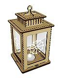 Cog Wheel Clear Candle Lantern / Tea Light Holder (LT00015851)