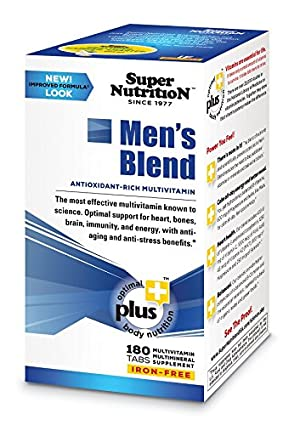 The Men's Blend Iron Free Super Nutrition 180 Tabs