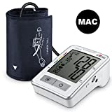 Upper Arm Digital Blood Pressure Monitor, FDA & CE Approved, APULSE Blood Pressure Cuff, Exclusive MAC Mode for Accurate Readings, Blood Pressure Machine with Large Clear LCD Display, White