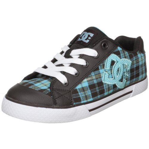 DC Shoes Women'S Chelsea Ladies Shoe Brn/Ocean Trainer D0300876 4 Uk