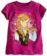 Disney Frozen Anna Tee Shirt for Girls Size 23