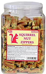 Squirrel Nut Zippers 240ct Tub