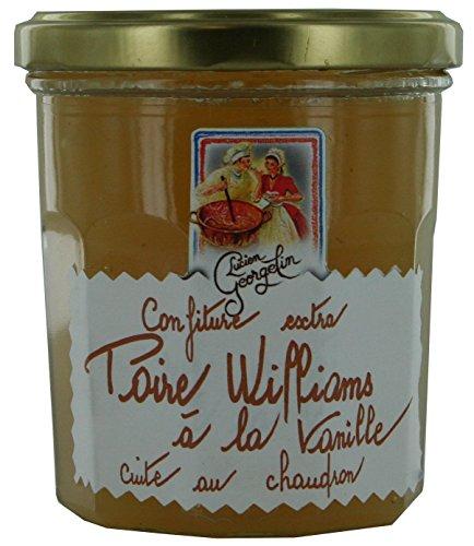 Confiture extra de poires Williams à la vanille