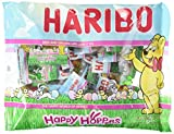 Haribo Happy Hoppers Gummi Candy Individually Wrapped for Easter Egg Hunts and Basket Fillers (2 Pack)