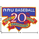 MLB Baseball 20 Th Anniversary 1983 - 2003 Embroidered Sew Iron on Patches Great Gift for Dad Mom Man Woman